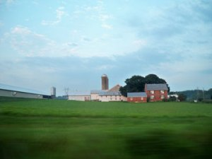 A farm in Lancaster County, PA