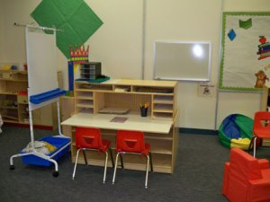 ECE writing station