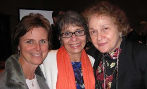 At the 2008 NCTE convention with Carol Varsalona and Laura Robb
